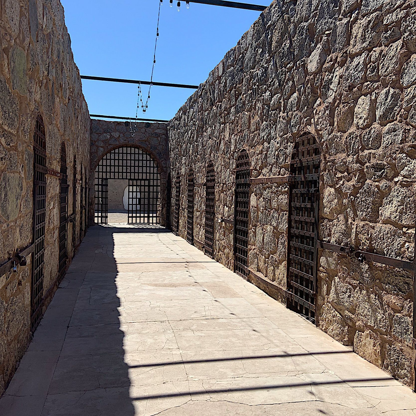 Prison Cells at the Yuma Territorial Prison State Park