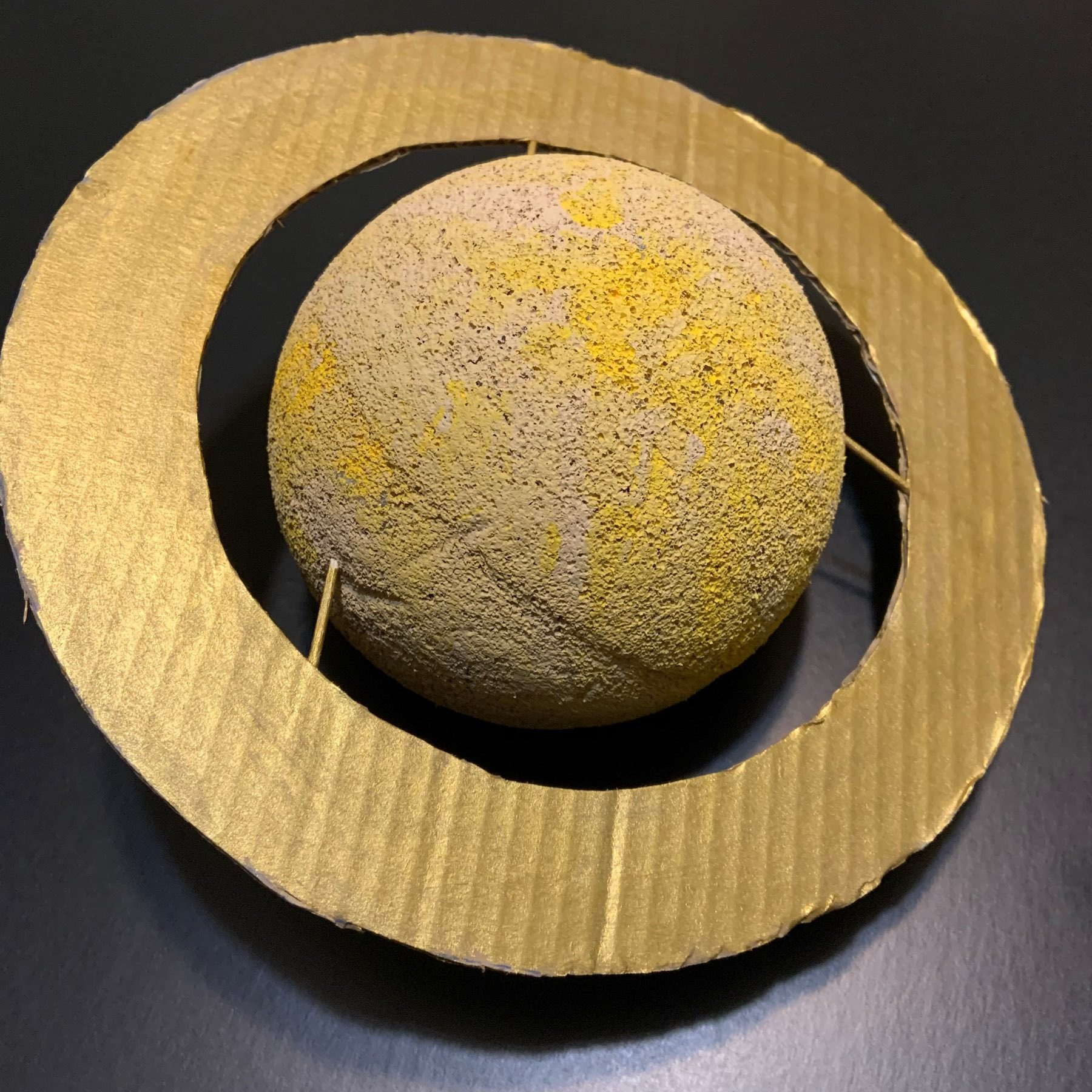 A simple model of thr planet Saturn
